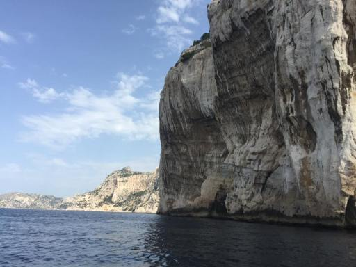 The cliffs around Cassis are magnificent