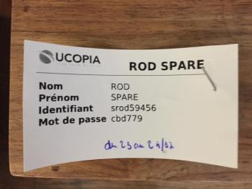 Mynew French name. Time to get my passport updated.